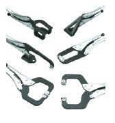 Jaw plier clamps